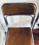 Jolies chaises années 70