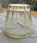 Pot confiture verre épais ancien