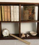 Etagère ancienne, rangement et décoration