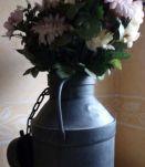 Ancien bidon de lait 20 litres déco vintage campagne jardin