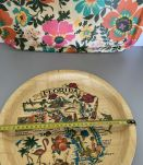 Plateau bambou Florida  vintage