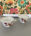 2 Tasses porcelaines