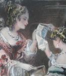 Ancienne Illustration de Roqueplan C. 19eme