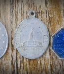 Lot médailles de Lourdes