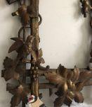 Panneau décoratif, oiseaux et feuillages