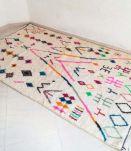 Tapis berbère coloré  254 X 152  cm