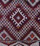 Tapis vintage Marocain Berber fait main, 1P46
