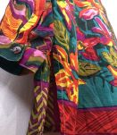 Chemise vintage 3 Suisses à motifs