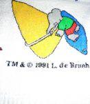 Serviette éponge BABAR 1991