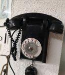 Téléphone U43 mural en bakélite