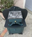 Chevet vintage relooké