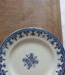 Assiette faïence de Rouen XIXeme