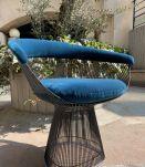 6 chaises - Warren Platner édition Knoll