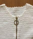 Robe en crochet fait main