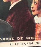 """Affiche scolaire """"L'arbre de Noël-La fleuriste"""""""