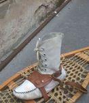 Ancienne paire de raquette de neige