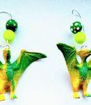 Boucles d'oreilles dinosaure, boucles d'oreilles Ptérodactyl