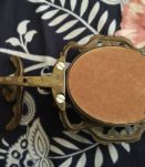 PORTE-Manteau fin Bronze  avec cadre
