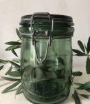 Bocal ancien  SOLIDEX - 3/4 litre, décoration de cuisine
