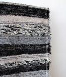 Tapis 120 x 170 cm - Noir et gris