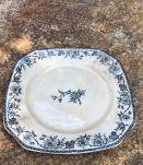 Assiette Pexonne bleue