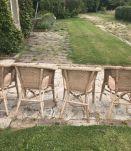 4 Fauteuils Rotin