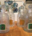 Lot 2 flacons Güërlain grand format : 1 litre et 500 ml