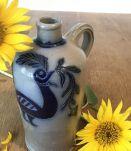 Cruche, bouteille grès signée Wingerter années 50