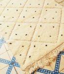 155x116cm tapis berbere marocain