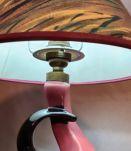 petite lampe vintage 1950  a 60   ceramique  non signé 26x20