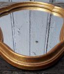 Miroir classique doré 45 x 24 cm