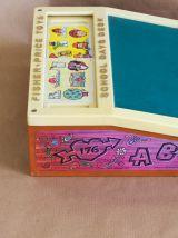 School Desk Fisher Price vintage
