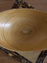 Plats en bambou