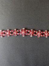 Collier ras de cou avec des perles en cristal
