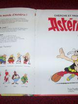ALBUM ASTERIX CHERCHE ET TROUVE goscinny uderzo pour hachette