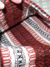 Sac besace Vintage'S 70 - Laine Tissée main - Artisanat Tunisien