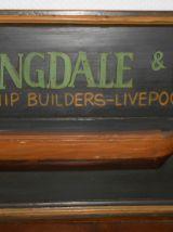 5 Panneaux en bois authentiques publicitaires