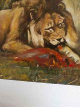 lot de 2 peintures à l'huile