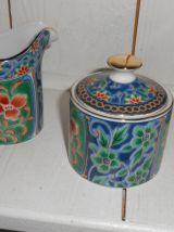 Service à café en porcelaine