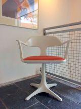 Chaise de bureau rotative vintage