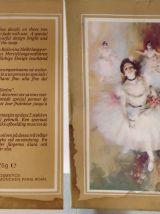 Ancien Coffret de superbes savons parfumés décorés