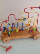 Looping boulier jouet bois vintage