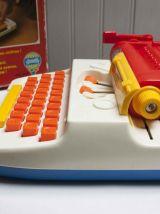 machine à écrire jouet enfant 1977