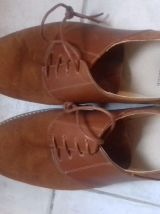 Chaussures de ville Homme beige M. MOUSTACHE