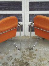 Paire fauteuils 80's