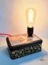 """Lampe vintage, lampe de table, lampe de bureau -  """"L'Apprent"""