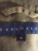Veste saharienne coloris kaki marque Somewhere Taille 38