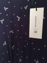 Robe imprimée origami Mademoiselle R Taille 38