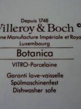 Plateau poivrière salière et moutardier Villeroy et Boch