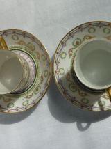 2 tasses Litron Limoges